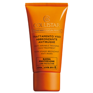 Collistar Sun Anti-Wrinkle Tanning Face Treatment SPF 6